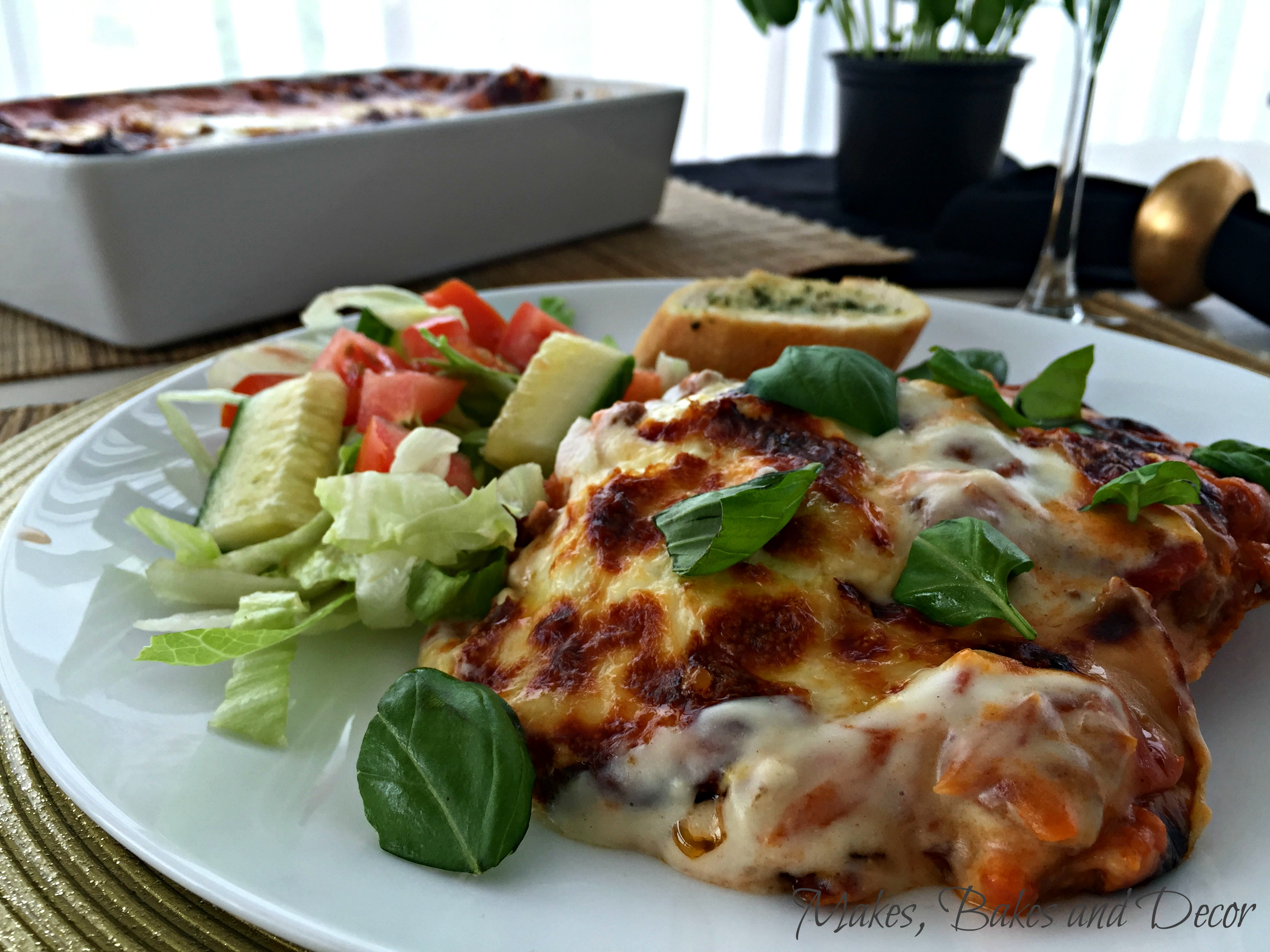 Traditional Lasagne 1