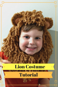 lion costume tutorial 6