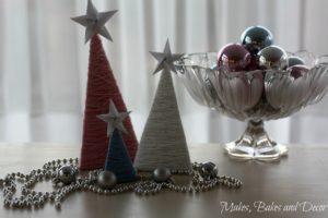 diy wool christmas tree decoration 11