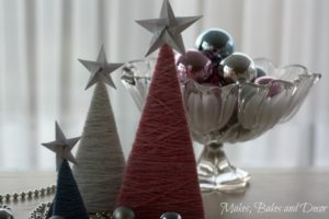 diy wool christmas tree decorations 1