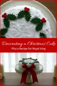 decorating-a-christmas-cake