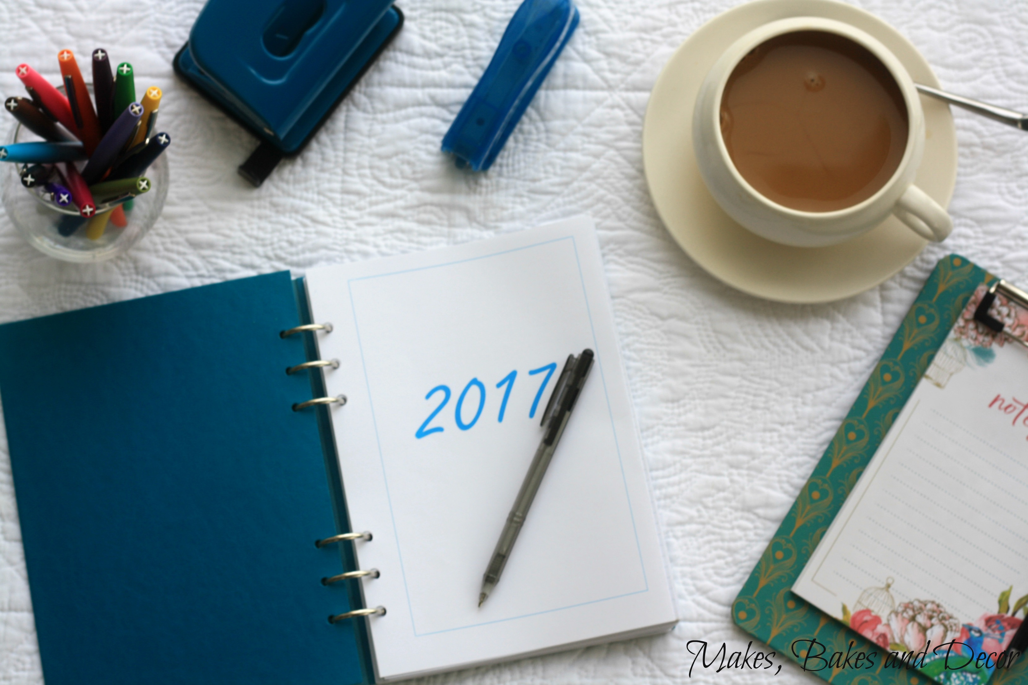 2017 goals and my bullet journal set up