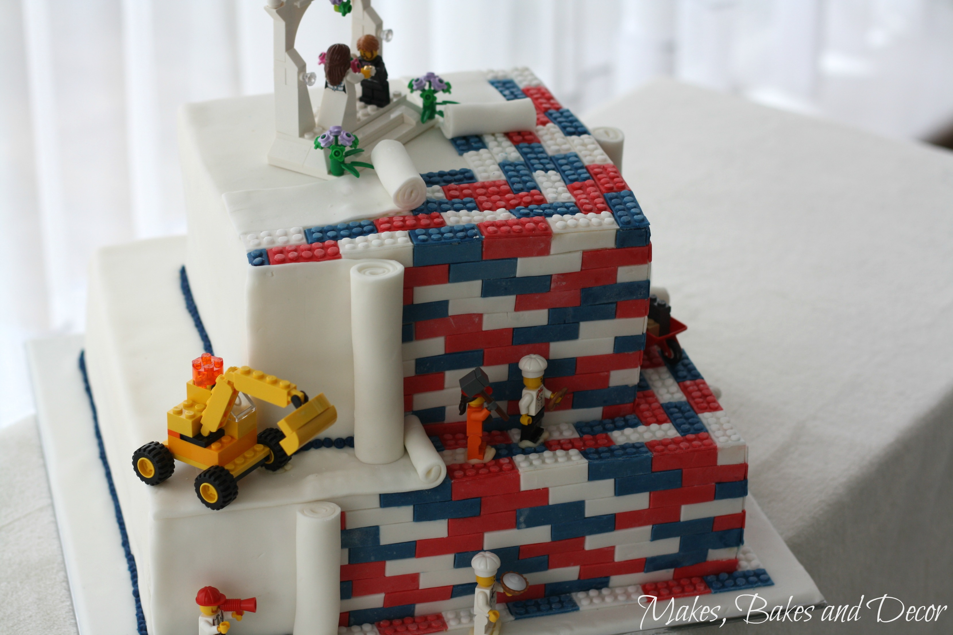 Essentials Of Cake Decorating : Lego Wedding Cake and my Cake Decorating Essentials ...