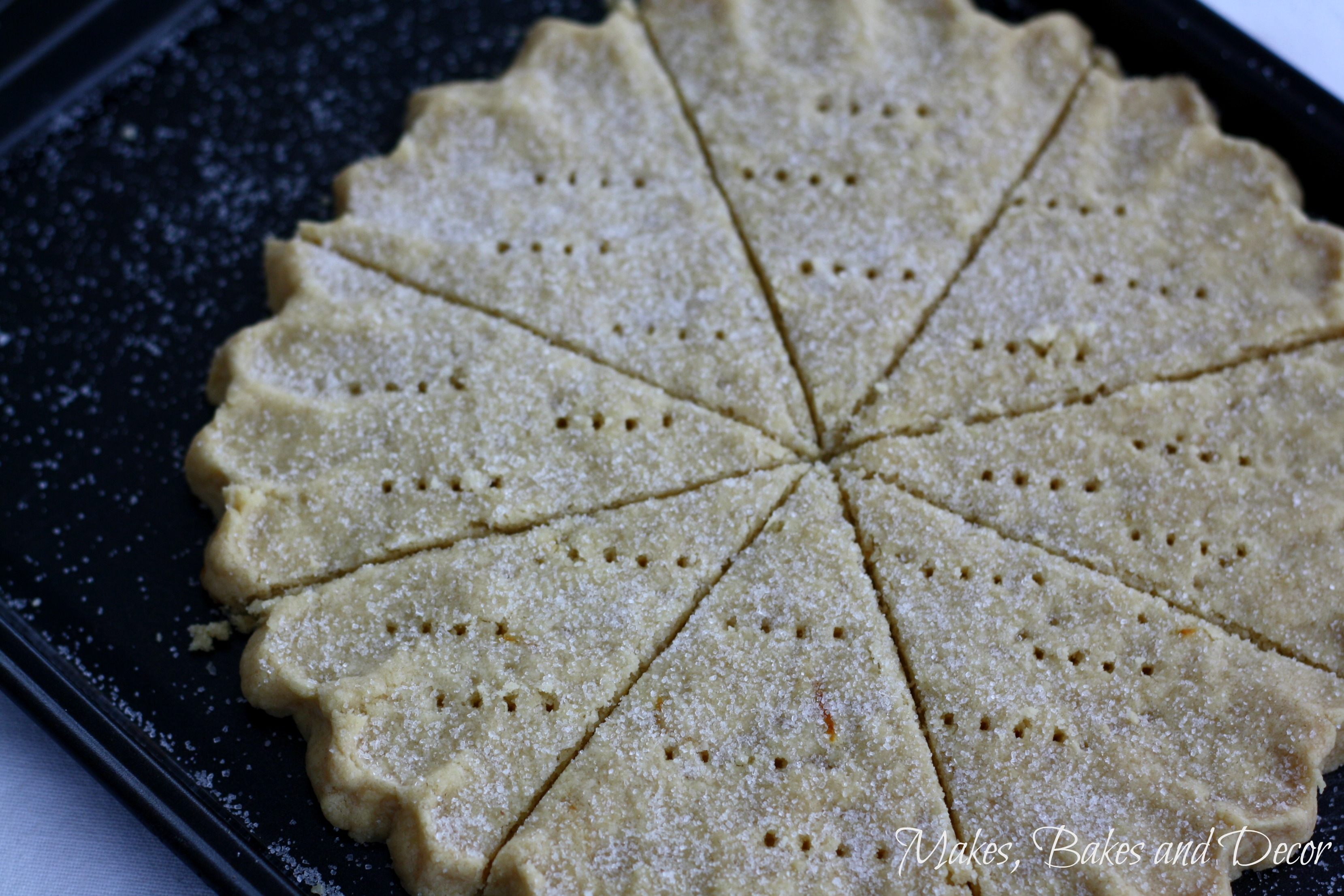 lemon shortbread