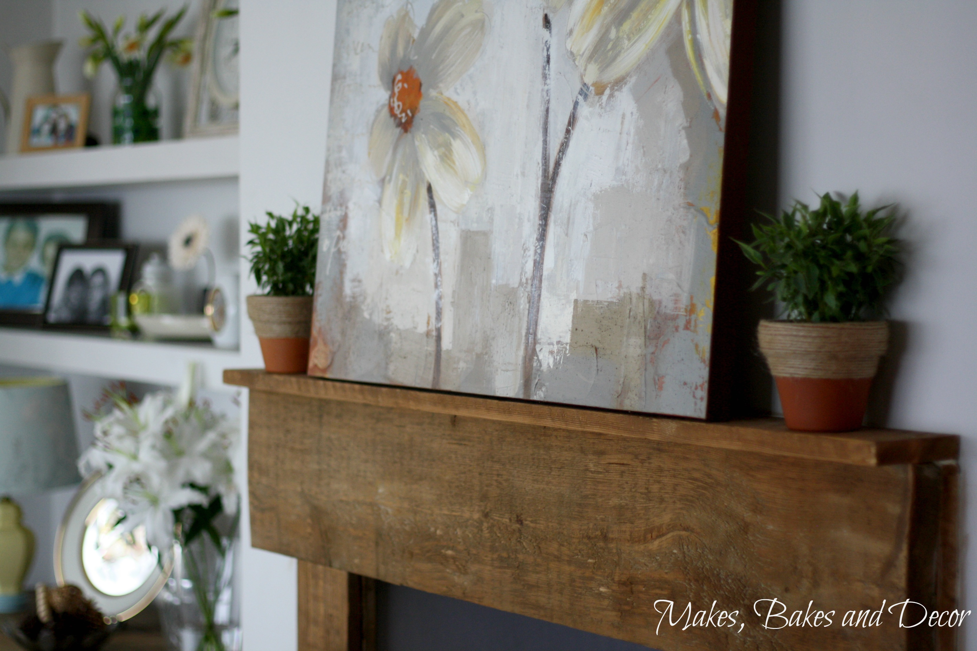 my spring decor updates