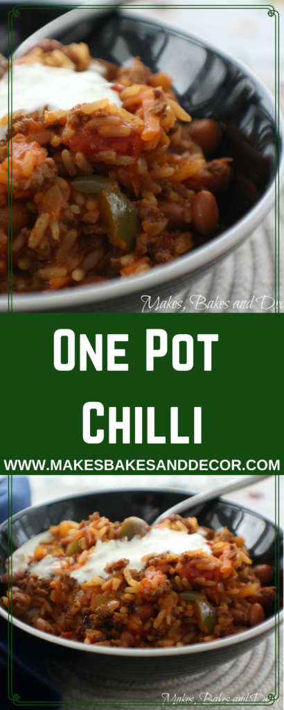 one pot chilli