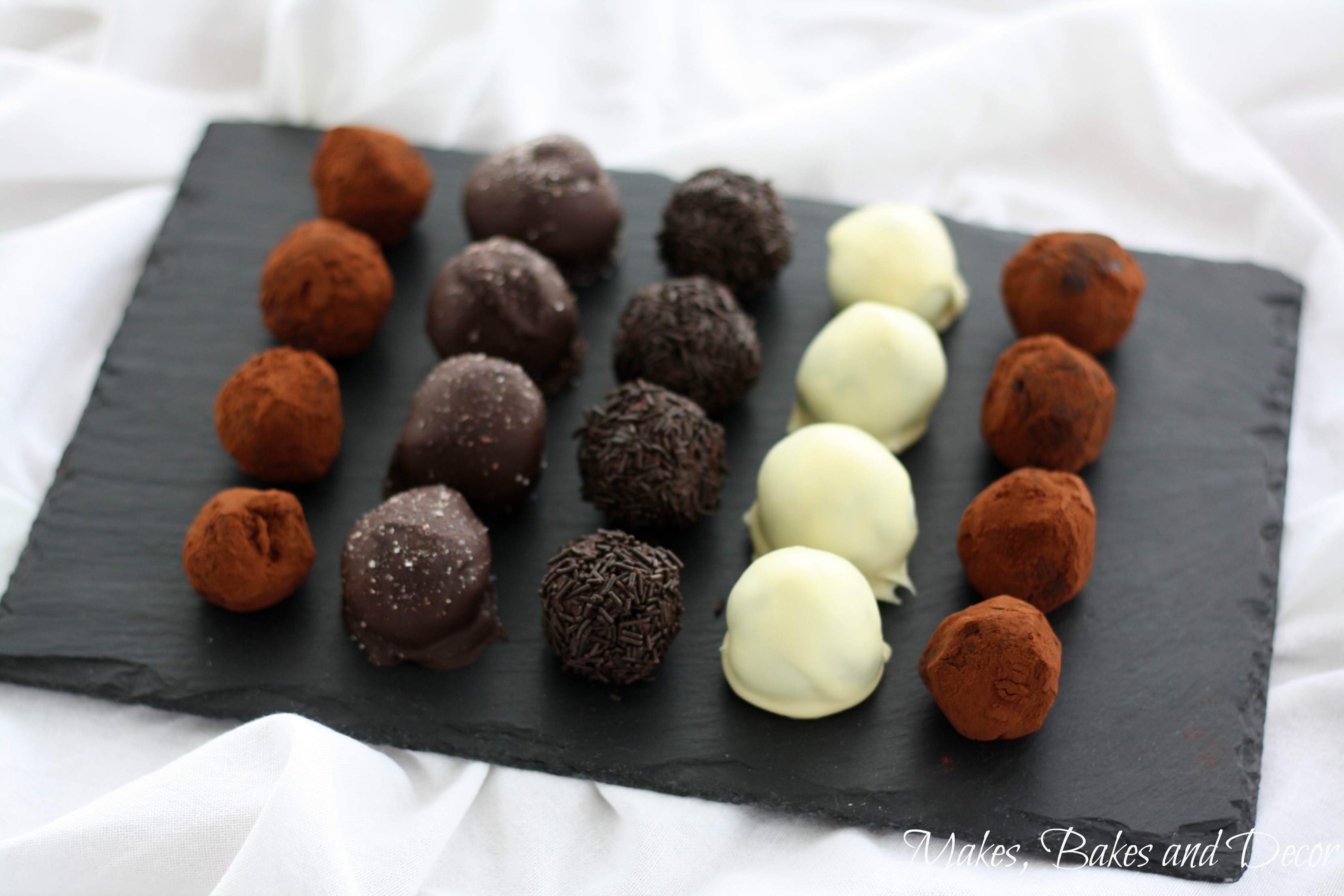 Chocolate Truffles with a difference