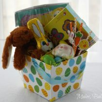kids easter hamper