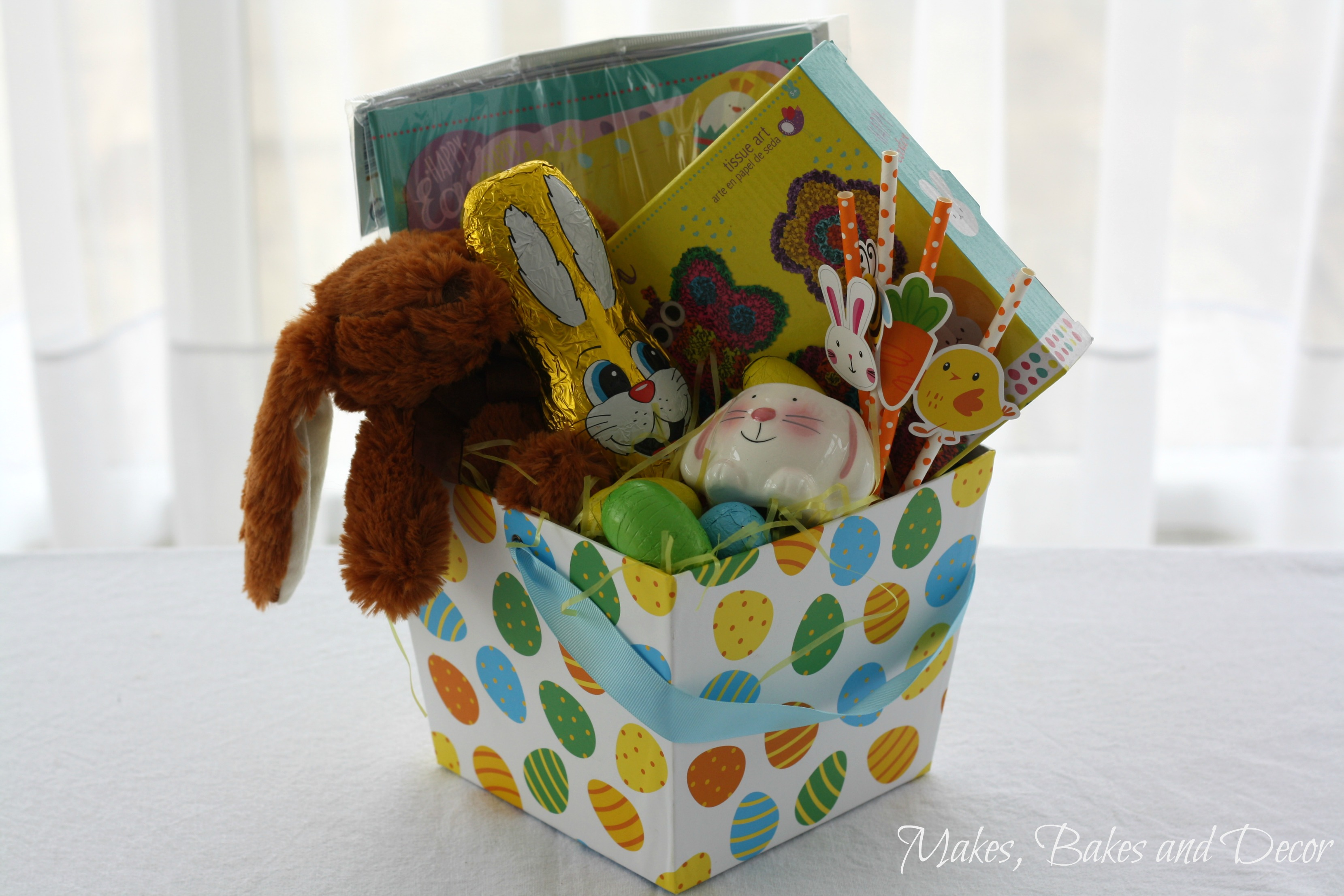 kids easter hampers