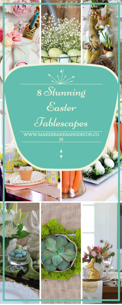 8 stunning easter tablescapes