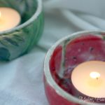 mod podge tea light holders