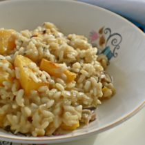 roast pumpkin risotto