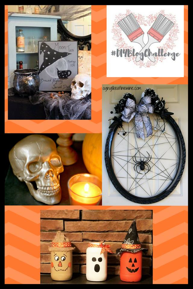 glam halloween skulls