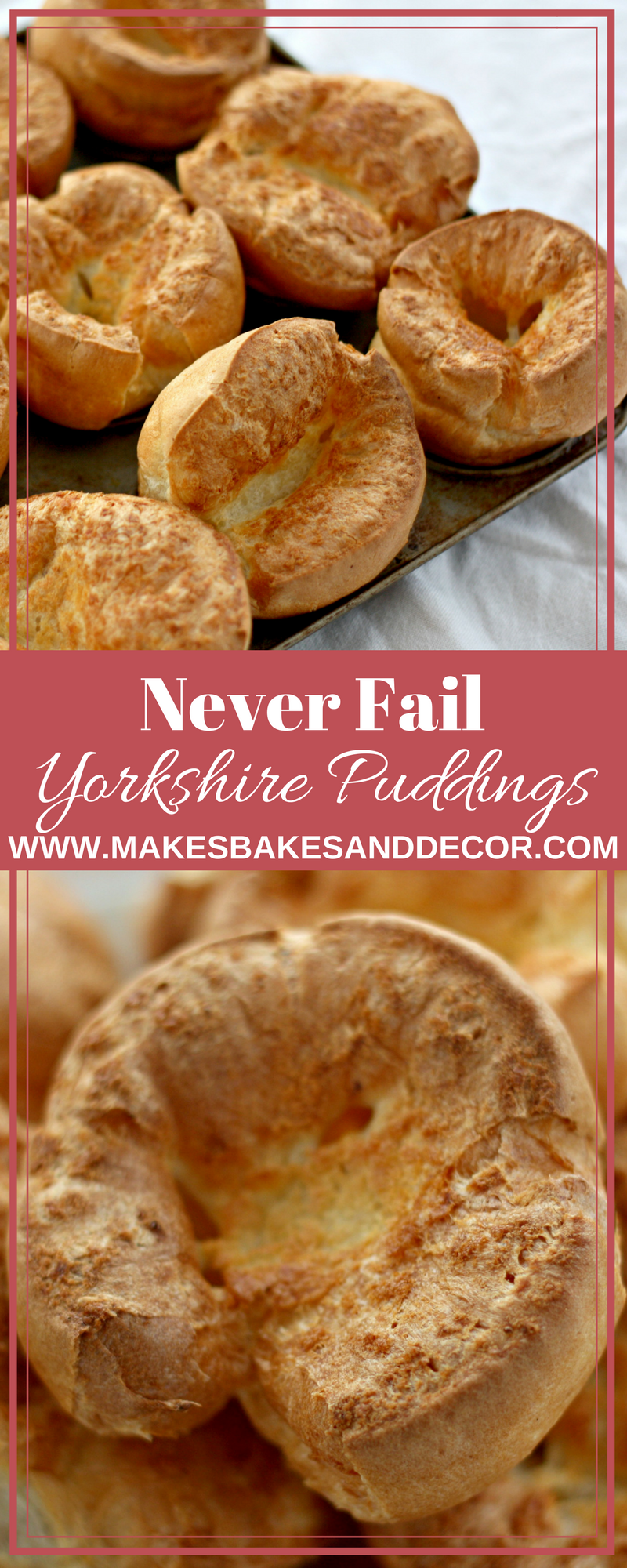 never fail yorkshire puddings