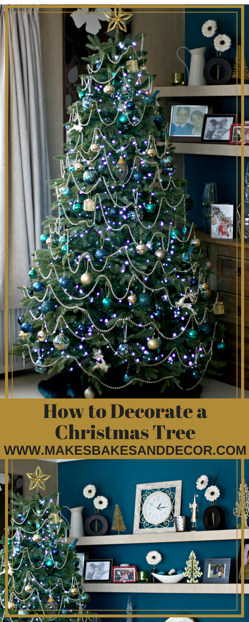 how to decorate a christmas tree