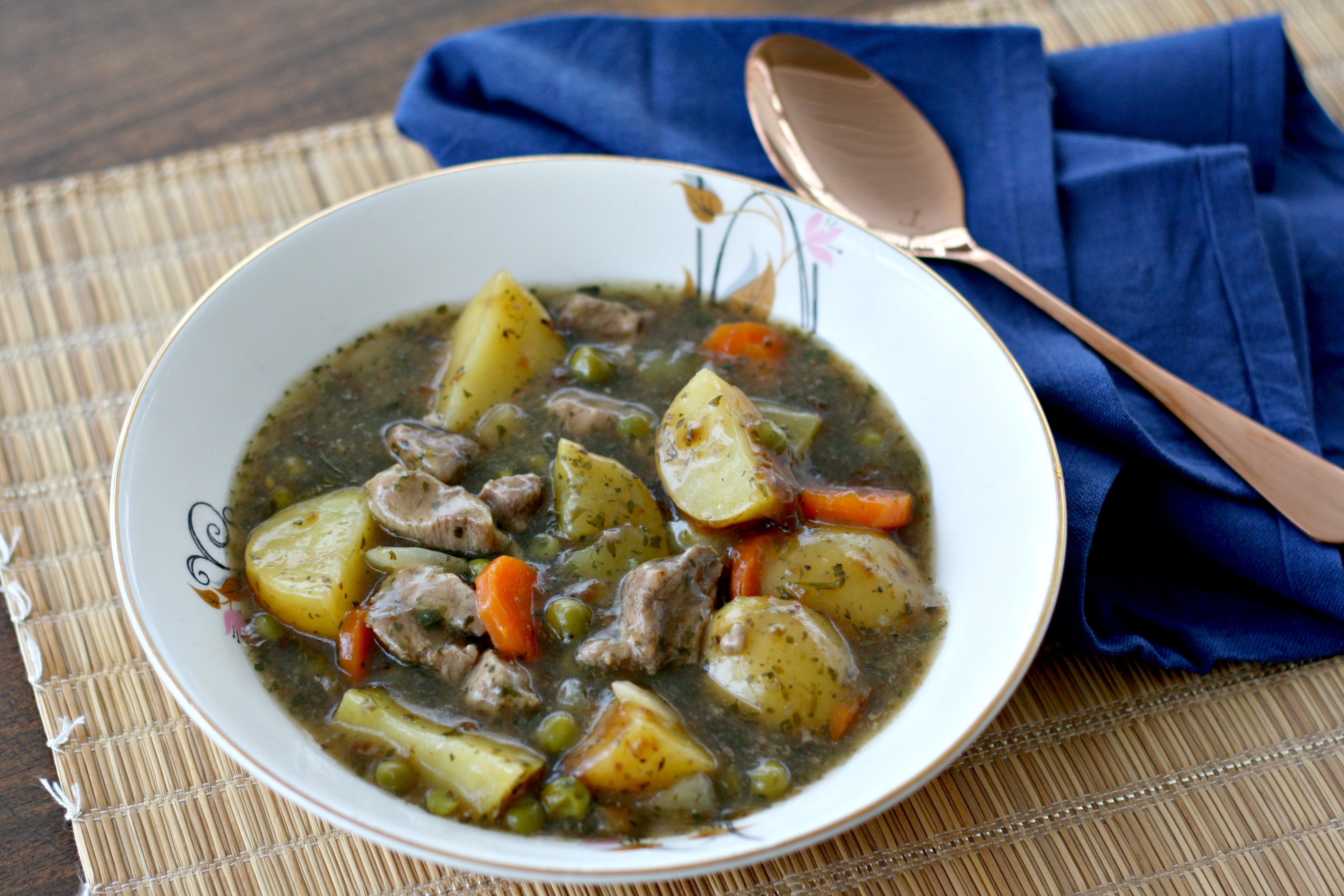Slow Cooker Minted Lamb Stew Makes Bakes And Decor