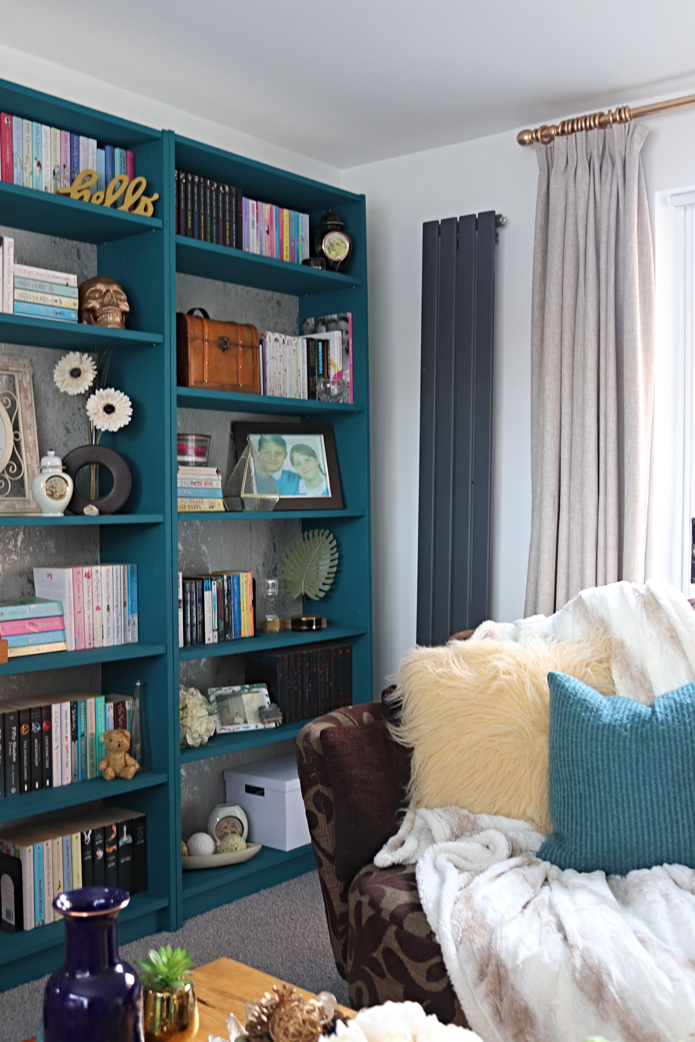 Ikea Billy Bookcase Hack For Our Living Room Makes Bakes